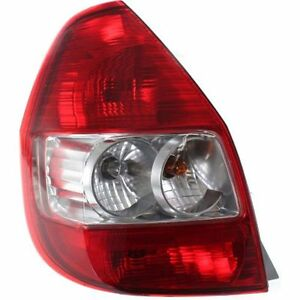 New Tail Light driver Side For Honda Fit Ho2800169 2007 To 2008