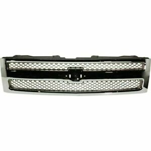 New Grille For Chevrolet Silverado 1500 Gm1200655 2012 To 2013