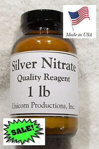 Silver Nitrate Quality Reagent 1 Lbs