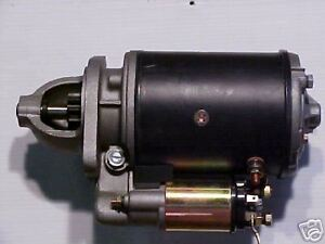 New 2000 2610 3000 3600 3610 4000 5000 5610 6610 7710 Ford Tractor Starter Hd