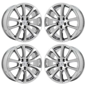 18 Avalon Camry Pvd Chrome Wheels Rims Factory Oem 2013 2014 2015 Set 4 69624