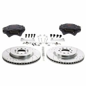 Zzperformance 13 6 Front Brake Kit W Brembo Calipers For 2000 08 Chevy Impala