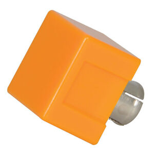 Dialight 304 1873 Yellow Square Cap Lens For Use With 183 Indicators 30 Pcs