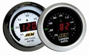 Aem 30 4110 Afr 52mm Wideband O2 Uego Controller Gauge Air Fuel Ratio