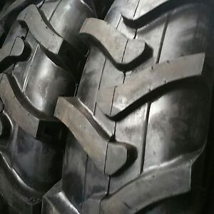 2 tires 14 9 24 10 Ply R1 Rear Backhoe Industrial Tractor Tires tubes 14 9x24