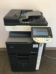 Konica Minolta Bizhub 283 Copier Printer Scanner Network Low 170k Total Pages