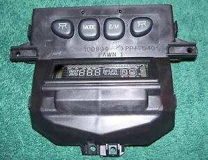 99 02 Expedition Navigator Overhead Console Message Center Xl1z 10d898 aa