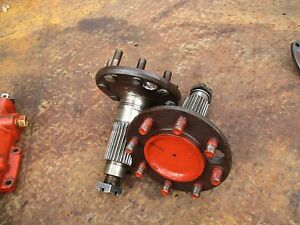 1958 Ford 961 Gas Farm Tractor 8 Lug Rear Axle Shaft Free Shipping