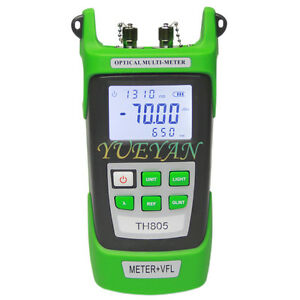 70 3dbm Fiber Power Meter 5mw Visual Fault Locator Fiber Optical Tester