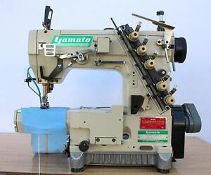 Yamato Vc2713 2 needle 3 16 Cylinder Bed Coverstitch Industrial Sewing Machine