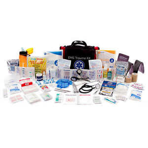 New Deluxe Ems Emergency First Responder Trauma Supply Kit Medical Bag Firstaid