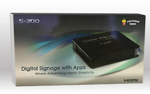Popcorn Hour S 300 Hd Digital Signage Player Simple Advertising Solution