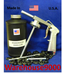 Fluid Film Standard Undercoating Spray Gun With Quart Bottle And 50 Rust Plugs