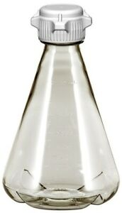 2l Ezclear Baffled Erlenmeyer Flask W 53mm Versacap