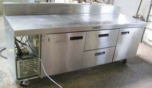 84 Delfield Refrigerated Work Table With 2 Drawers