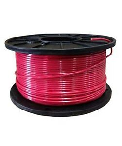 500ft Thhn 14 14awg 14 Gauge Solid Red Building Electrical Cable Wire Ul