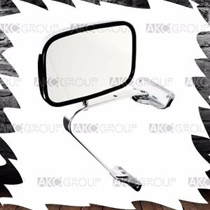 Reversible Side Mirror Replacement For Universal Truck And Van