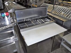 Turbo Air Tpr 44sd 44 Pizza Prep Table W Refrigerated Base Storage Cabinet