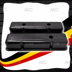 Anodized Black Stamped Aluminum Tall Valve Covers For Chevy Sb 283 305 327 350