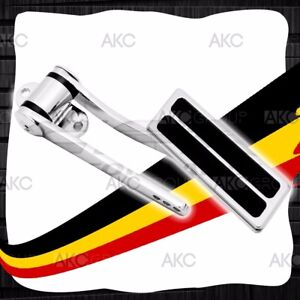 Chrome Finish Firewall Mount Street Rod Throttle Gas Pedal For Chevy Ford Mopar