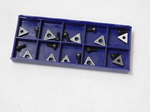10 Carbide Inserts On car Brake Lathe Bits For Pro Cut 50 742