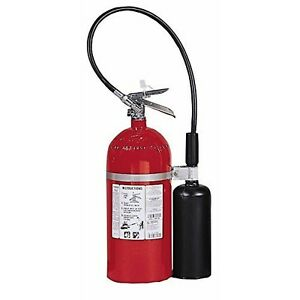 Kidde 466180 Pro 5 Cd Fire Extinguisher Ul Rated 5 b c Carbon Dioxide Red