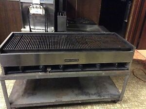 American Range 5 Ft Gas Radiant Char Grill