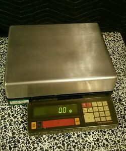 Sartorius I6800 Ip65 Washdown Scale D 0 1g Max 6800g Working Great