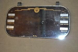 Antique Vintage Oldsmobile Clip On Visor Mirror W Oldsmobile Logo Real Antique