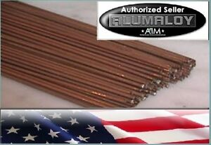 Copperaloy 1 Lb Copper Brass Repair Rods No Welding Use Propane Torch