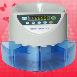 Electronic Coin Sorter Se 900 Coin Counting Machine For Most Of Countries