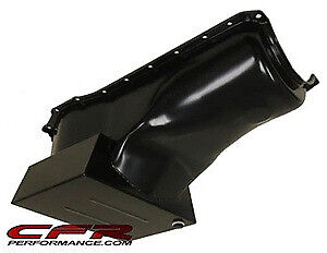 8 Quart Front Sump Black Oil Pan For 70 82 Ford Small Block 351c 351m 400 V8