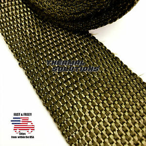 5ft 60 L 2 W Exhaust Header Turbo Manifold Pipe Lava Heat Shield Wrap Tape