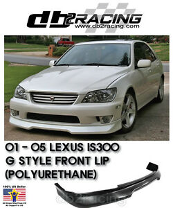 Gd Style Front Lip Urethane Fits 01 05 Lexus Is200 Is300 4dr Altezza