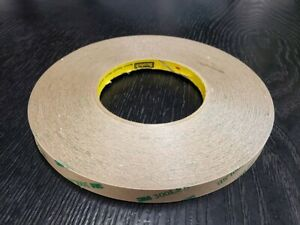 3m 9672le Adhesive Transfer Tape 0 25 In X 60 Yds W 300lse 5 Mil 1 Roll