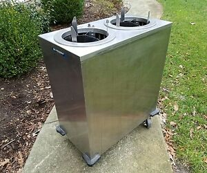 Lakeside 927 Plate Dispenser Cart Adj Heated 31x17x39 Will Palletize For Shp