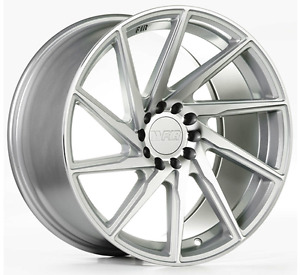 F1r F29 18x8 5 5x100 38 Machined Wheels Fits Dodge Neon Srt4 Forester Outback
