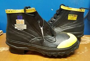 Servus 4061 Sz 9 Steel Toe Ul Classified Protective Boots Outside Type A Astm F