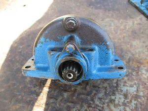 1981 Ford 1710 Tractor Diesel Front Wheel Drive Axle Gear Free Shipping