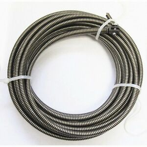 New 50 ft Drain Auger Cable Replacement Cleaner Snake Clog Pipe Sewer Cleaner