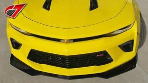 2016 Camaro Zl1 Front Splitter For Camaro Ss Gloss Black
