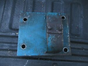 1974 Ford 8600 Farm Diesel Tractor Draw Bar Anchor Bracket Free Ship