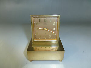 Antique Swiss Angelus Musical Alarm Clock Reuge Music Box Alarm Watch Video