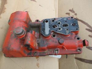 1956 Case 300 Gas Tractor Hydraulic Valve Assembly Housing Free Shipping