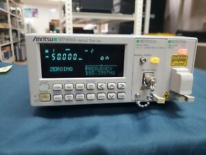 Anritsu_mt9810a Optical Test Set With Mu931311a Mu952501a