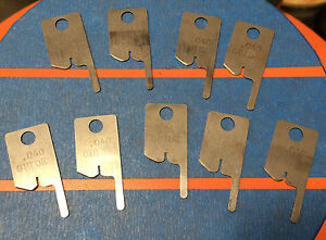 Eubanks 040 Guide Wire Stripping Blade Set 2600 Blades 00156 Cut Awg Gauge Lot