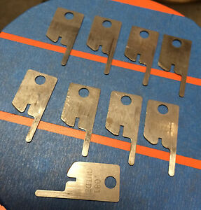 Eubanks 081 Guide Wire Stripping Blade Set 2600 Blades 00156 Cut Awg Gauge Lot