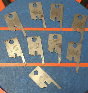 Eubanks 102 Guide Wire Stripping Blade Set 2600 Blades 00156 Cut Awg Gauge Lot