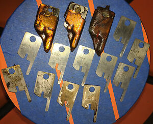 Eubanks 093 Guide Wire Stripping Blade Set 2600 Blades 00156 Cut Awg Gauge Lot