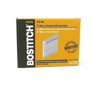 Bostitch Fln 200 5000 Count 2 Inch L Shaped Hardwood Flooring Cleat Nails